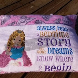 Princess Reading Pillow