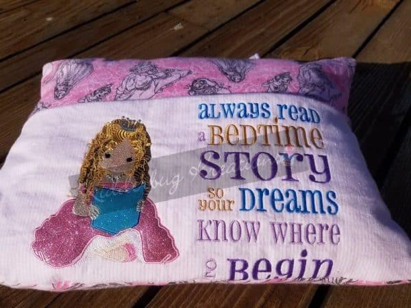 Princess Reading Pillow