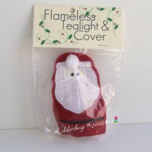 Santa tea light