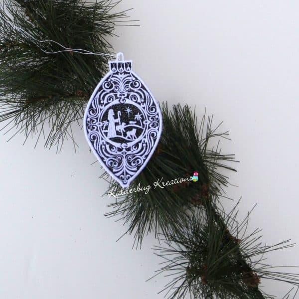 Shepherds Lace Ornament