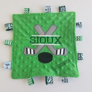 Sioux Hockey Sensory Blanket