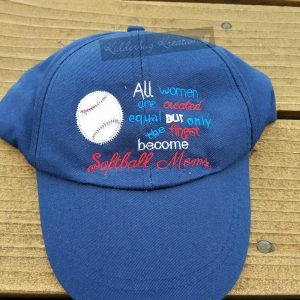 hat-softball mom