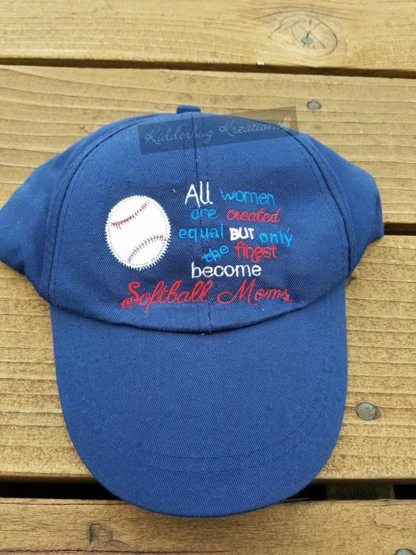 hat-softball mom