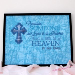 """Someone We Love Is in Heaven"" Memorial Gift"