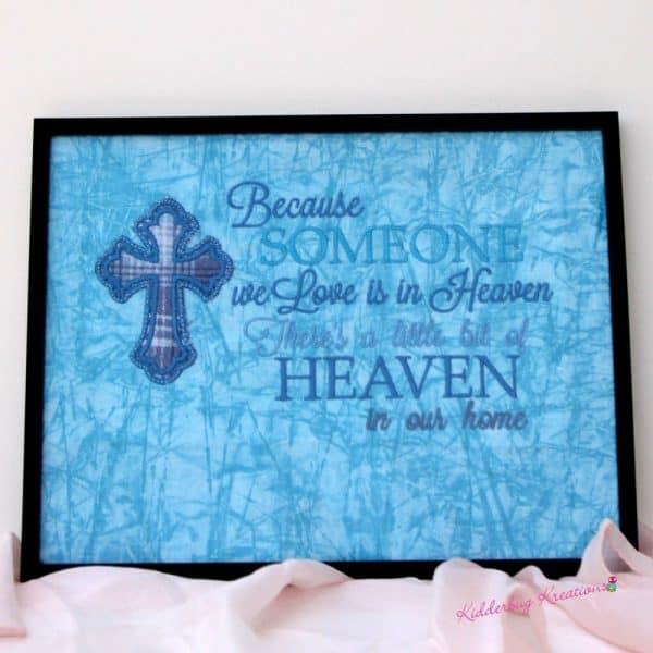 """Someone We Love Is in Heaven"" Memorial Gift"