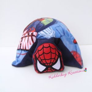 Spider Mask Fleece Pillow Pal