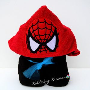 Spider Mask Hooded Towel