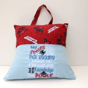 Spider Senses Reading Pillow