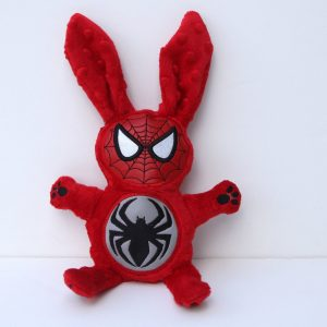 Spidermask Bunny Stuffed Animal