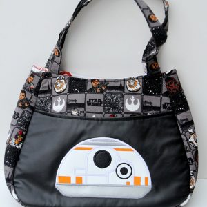 Star Wars Embroidered Fabric Purse