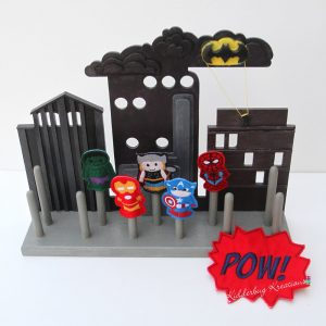 Superhero Finger Puppets Set 2