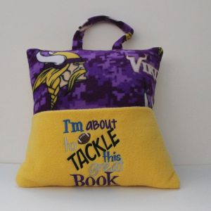 """Tackle This Great Book"" Reading Pillow"