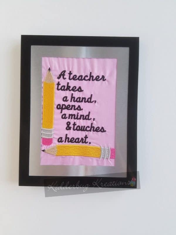Teacher Takes a Hand Frame