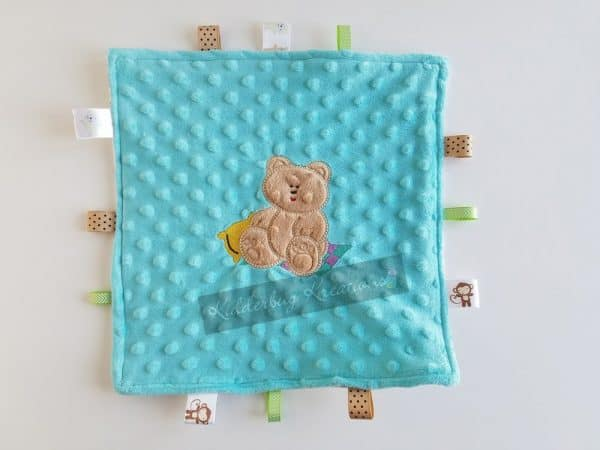Teddy Bear Sensory Blanket