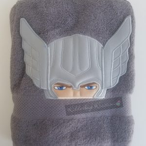Thunder hero towel