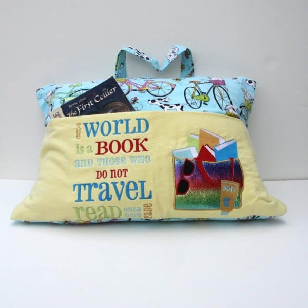 Travel Reading Pillow