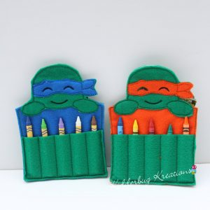 Turtle Crayon Holder
