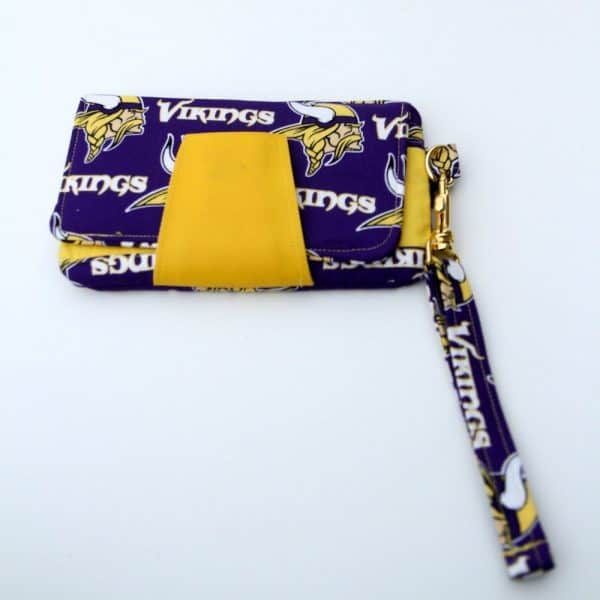 Viking Fabric Clutch Wallet