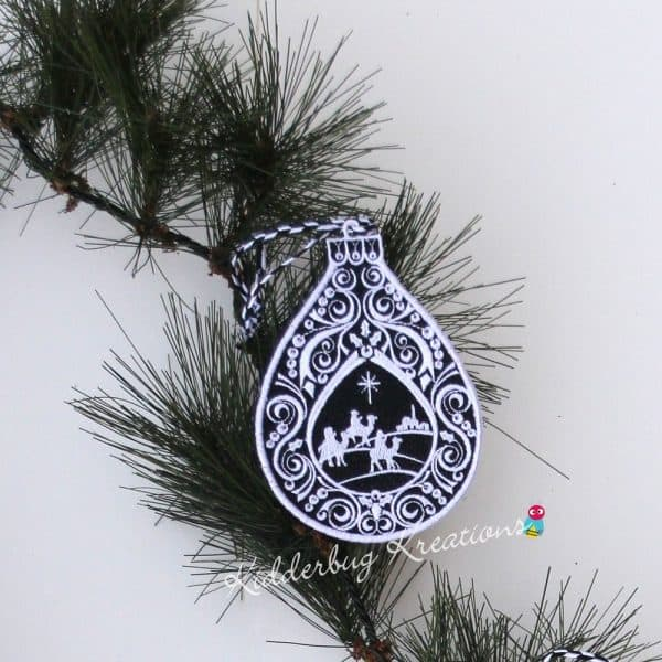 Wise Men Lace Ornament