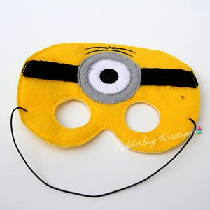 Yellow Man Mask