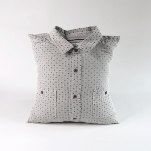 collared shirt memory pillow