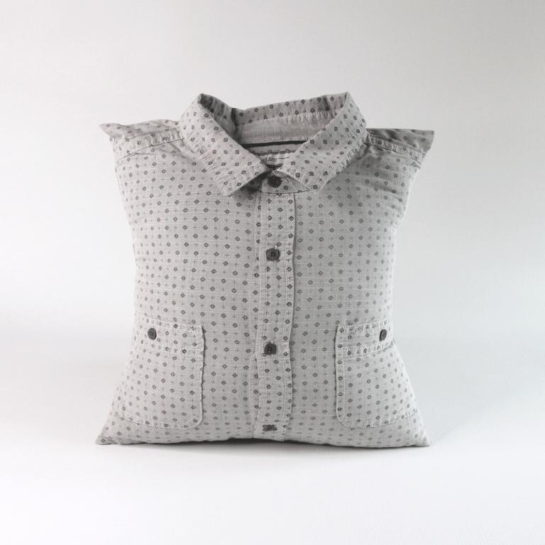collared shirt memory pillow