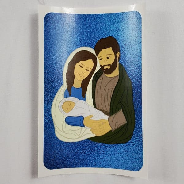 White skin toned Holy Family vinyl stickers.