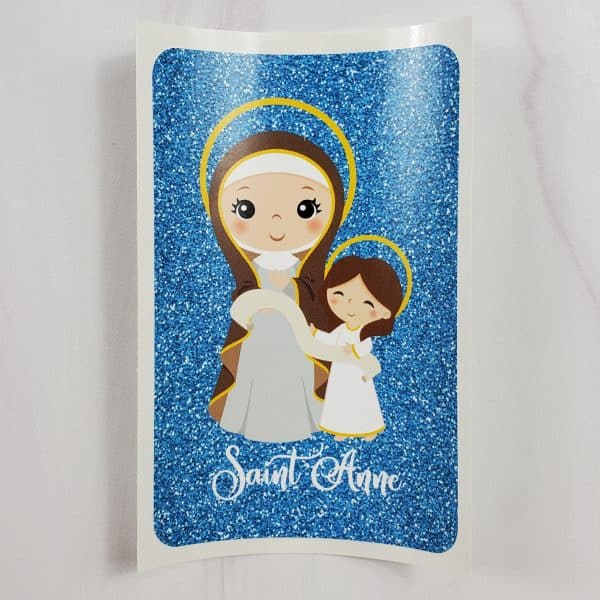 Saint Anne with Mary vinyl sticker from Kidderbug Kreations.