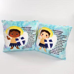 Catholic Saints Blankets/Pillows